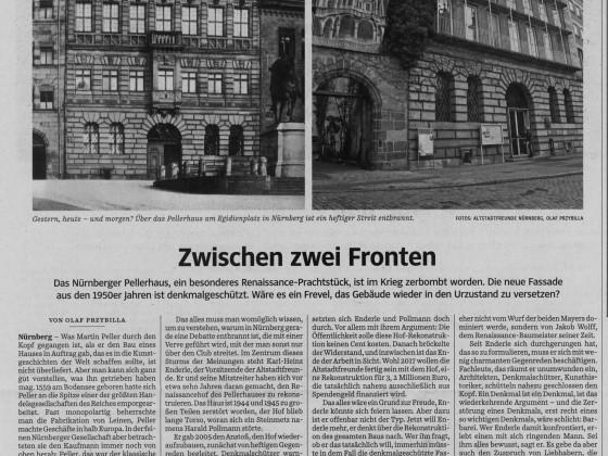 Zeitungsartikel Pellerhaus 24.03.16 Süddeutsche Zeitung