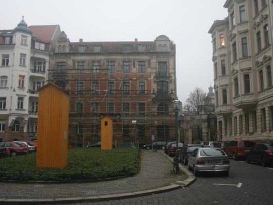 Nikischplatz 1 vorher