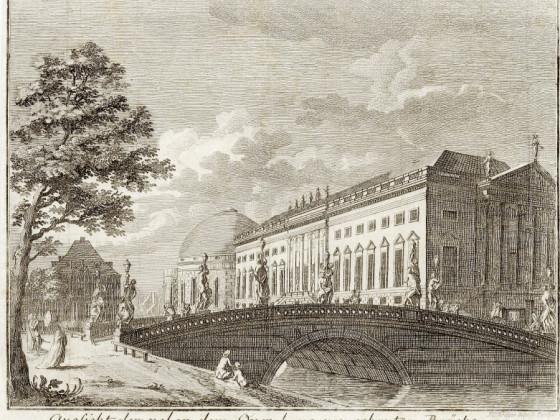 Opernbrücke,  Unter den Linden, Berlin
