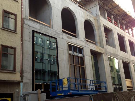 Das Gerber, Baustelle Juli 2013, Stuttgart