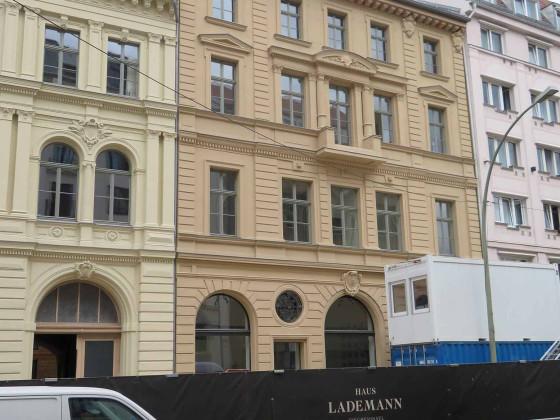 Wallstraße, Lademannhäuser