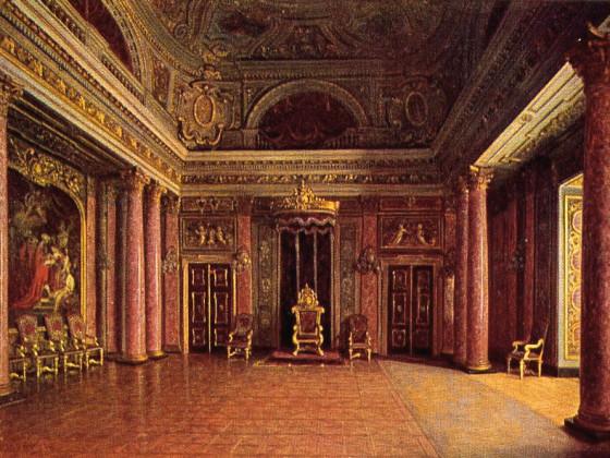 Schloß Berlin Kapitelsaal 1700