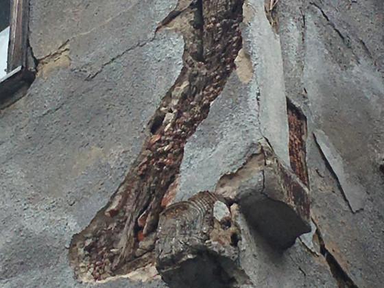 Forchheim, Sattlertorstr. 9, Detail angeblattetes Fußband