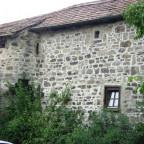 Stadtmauerhaus mit Turmstumpf ( Rückseite Hinterer Spitzenberg 1 )