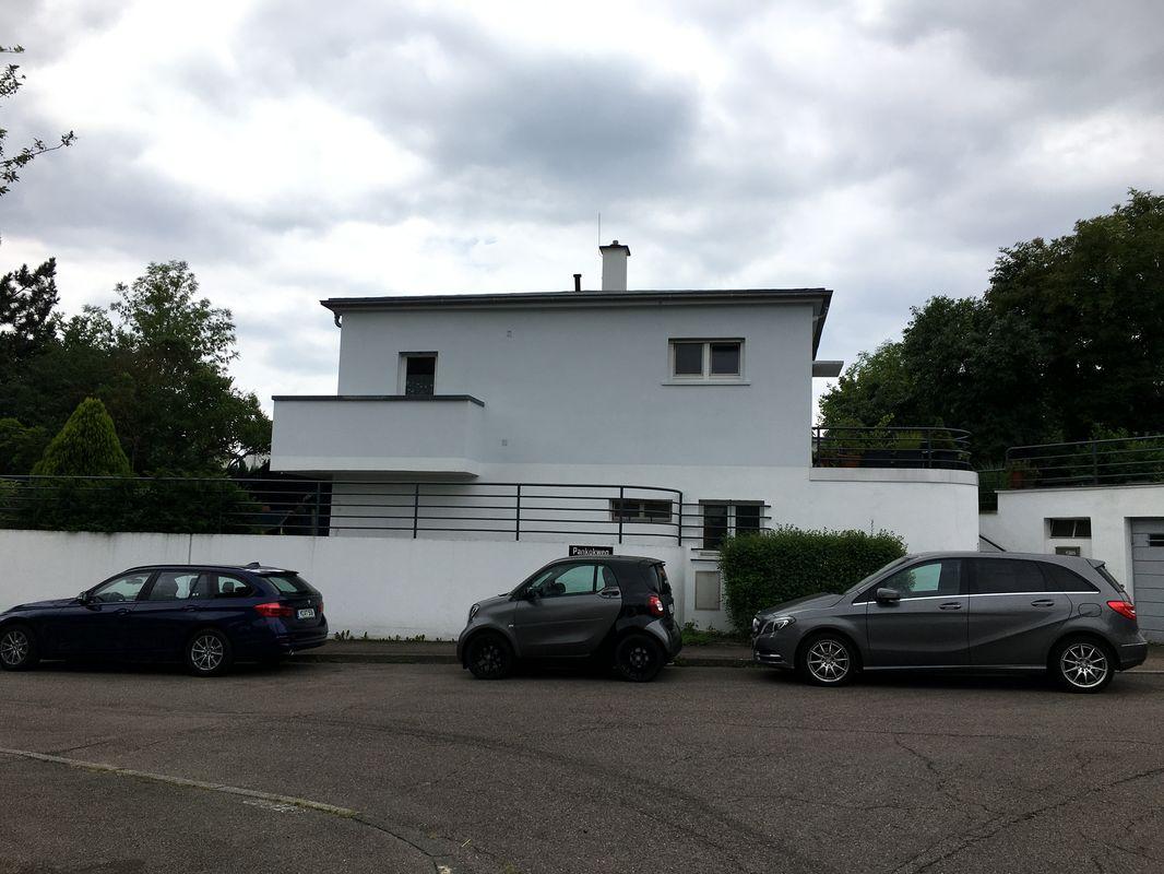 Einfamilienhaus in der Weißenhofsiedlung, aber nicht Bestandteil dieser