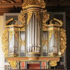 Orgel der Stiftskirche Feuchtwangen ( 1707 Prescher, Nördlngen )