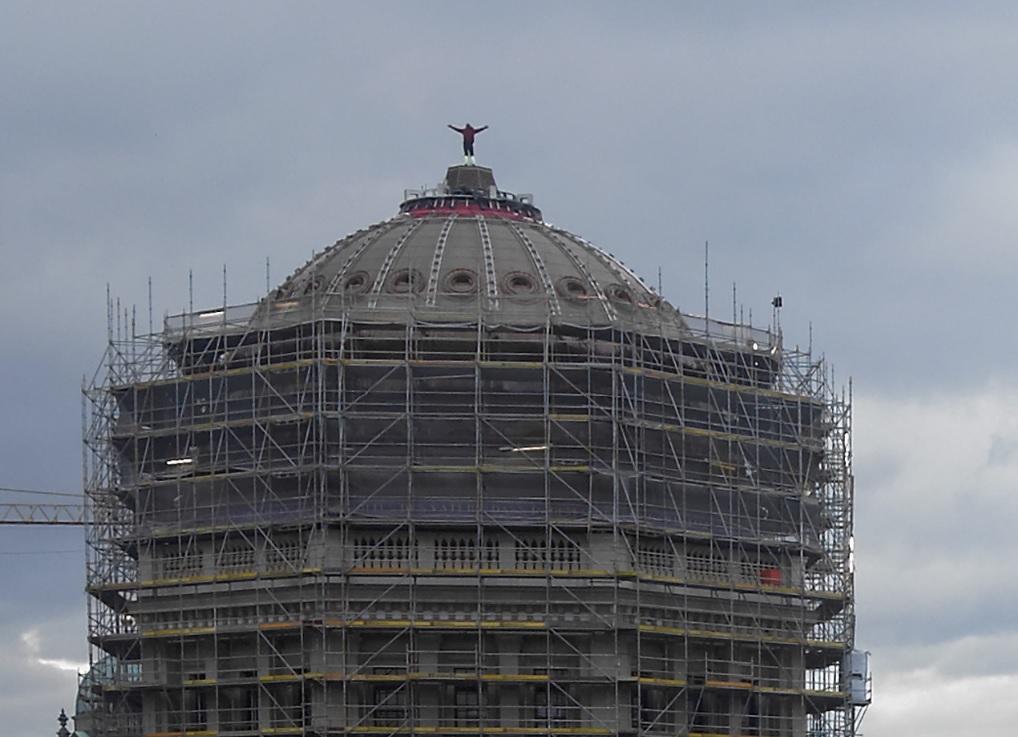 Berliner Schloss - Kuppel 11-02-2020