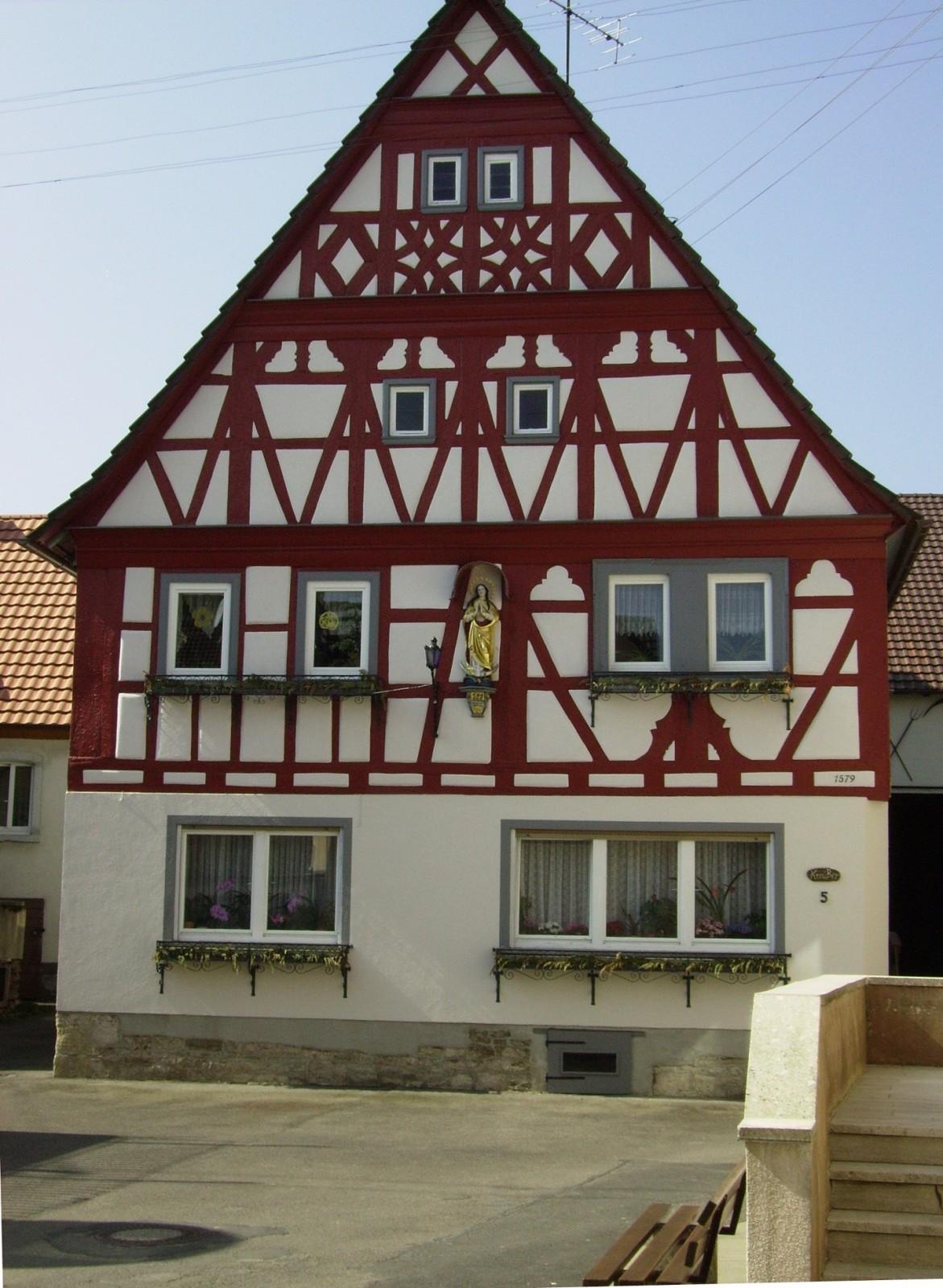 Fachwerkhaus in Röttingen