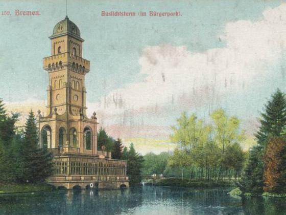 Bremen - Aussichtsturm im Bürgerpark