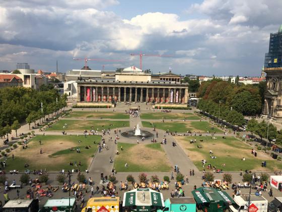 Berliner Schloss - Tag der offenen Baustelle 2018