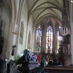 Stadtpfarrkirche St. Nikolaus von innen