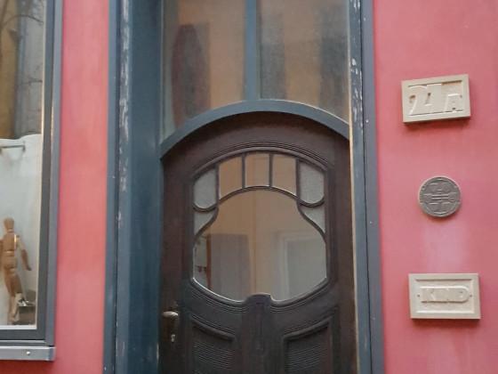Badstüberstrasse Neubauten Tür