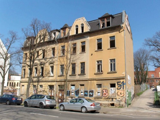 Leipzig-Connewitz-Windscheidstraße 47+49-vorher