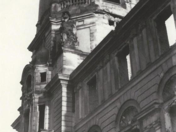 Schlossturm Neustrelitz Ruine