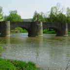 Steinerne Brücke von 1732 in Tauberrettersheim (Balthasar Neumann)