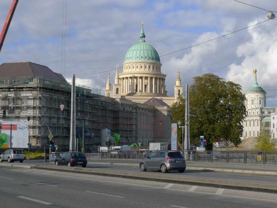 Potsdamer Stadtschloß, 11. Oktober 2012