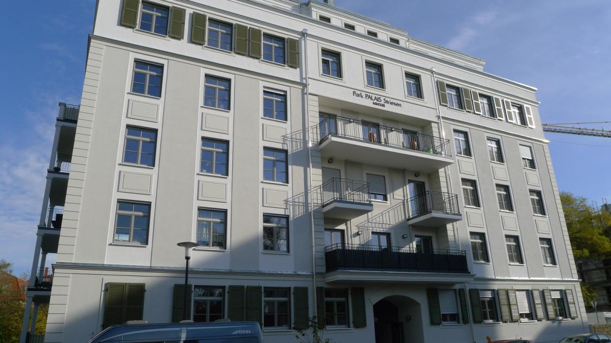 """Neubau """"Park Palais Striesen"""", Wormser Straße/Spenerstraße in Dresden"""