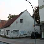 Abrisshaus in der Thomästraße