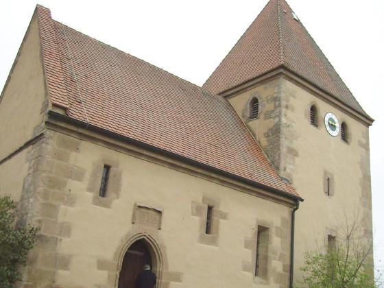 St. Nikolauskirche Ruffenhofen ( bei Dinkelsbühl )