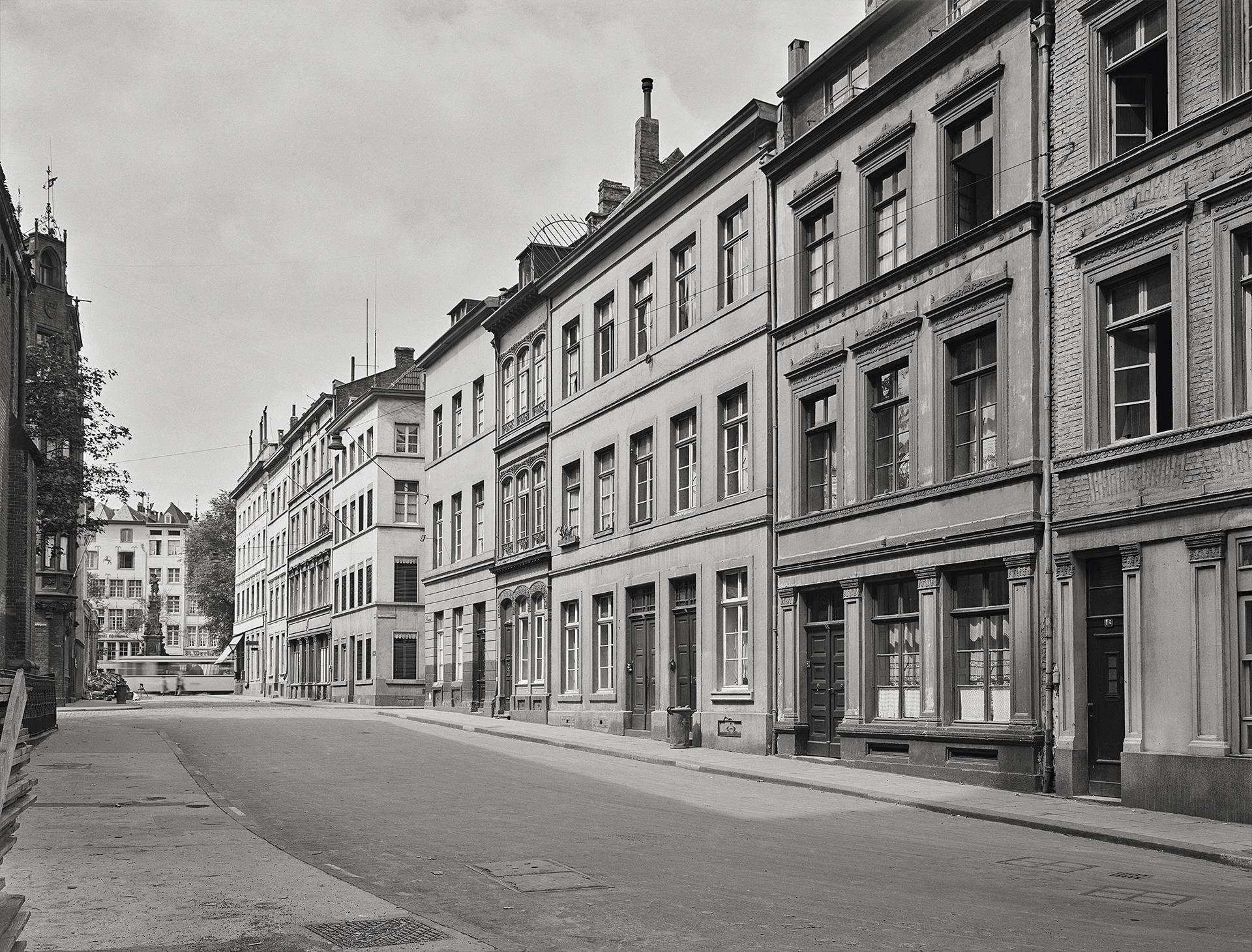 Köln Zollstraße früher