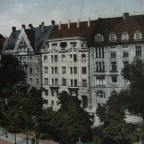 Leipzig Thomasring (Dittrichring) 16, 14, 12, 10, Thomaskirchhof 20 um 1910
