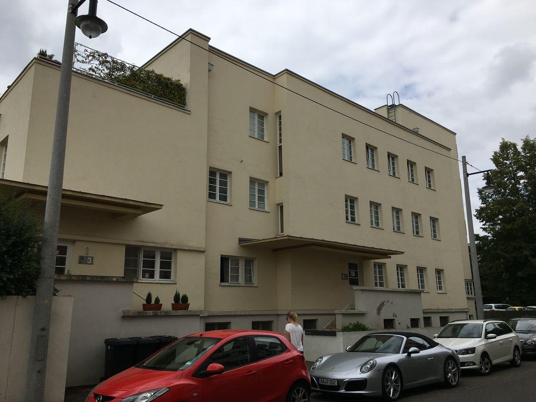 Terassenhaus von Peter Behrens in der Weißenhofsiedlung