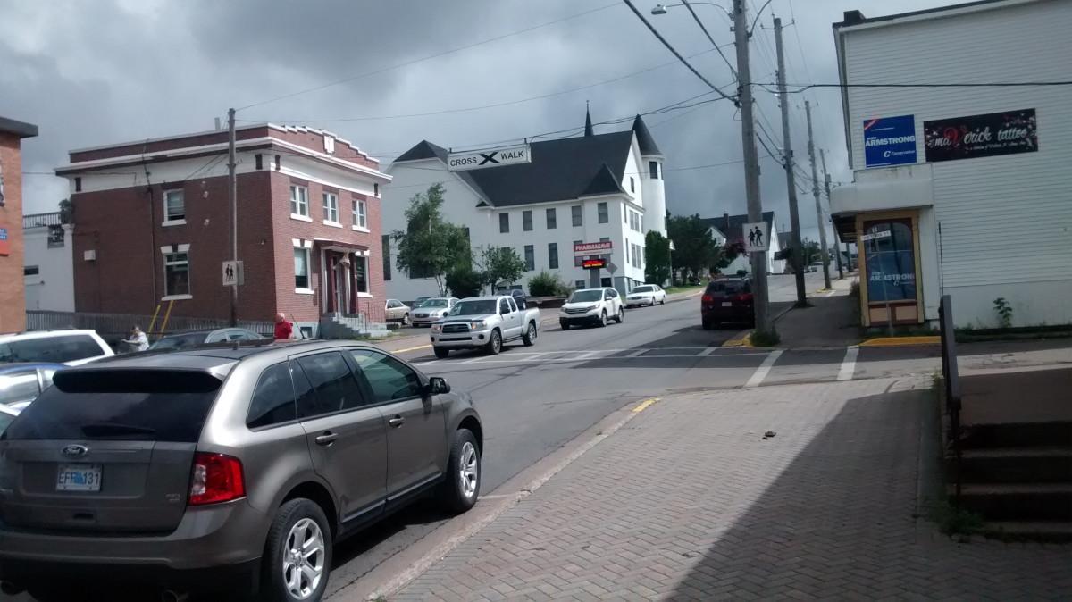 Die Stadt Parrsboro in Neu Schottland, Kanada