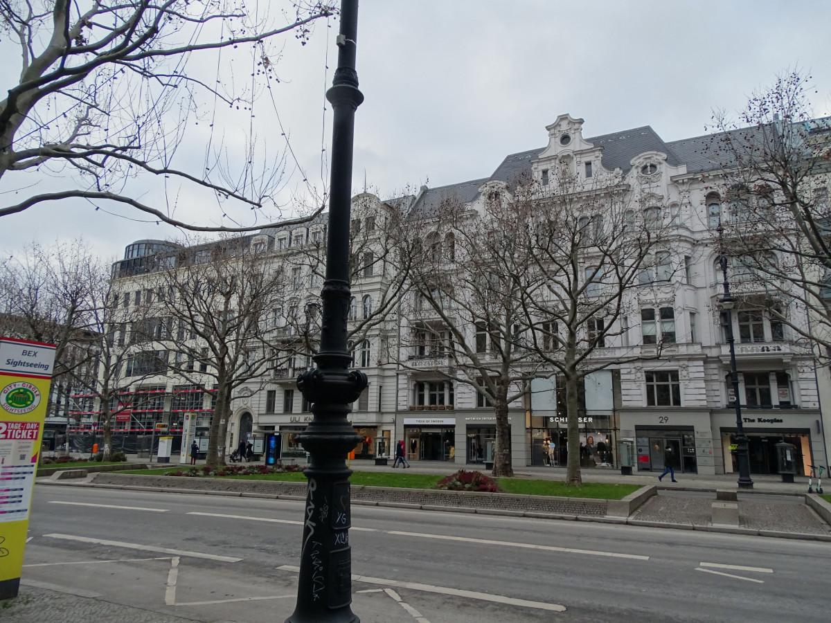Kudamm Ecke Uhlandstraße 15.1.21