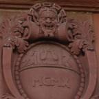 Theater Mainz 1910 Kartusche mit Jahreszahl