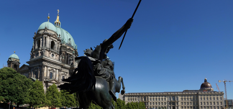 Berliner Stadtschloss am Pfingstmontag 2020