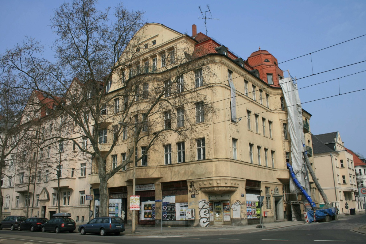 Leipzig-Nordvorstadt Karl-Rothe-Str. 9 Ecke Gohliser Str
