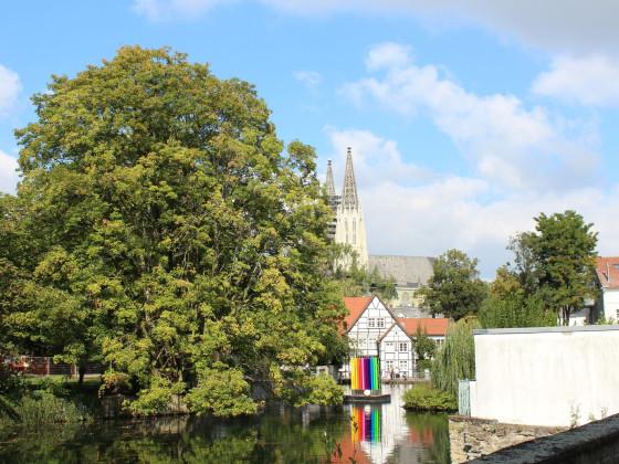 Teichsmühle und Wiesenkirche