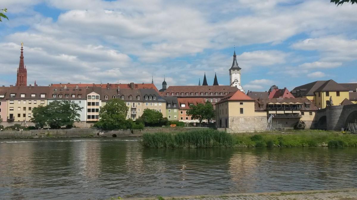 Würzburg Grafeneckart Juli 2017