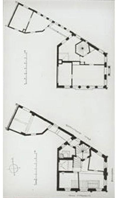 Toplerhaus Grundrisse