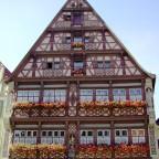 """das """"Deutsche Haus"""" ein Wunder an Zierfachwerk"""