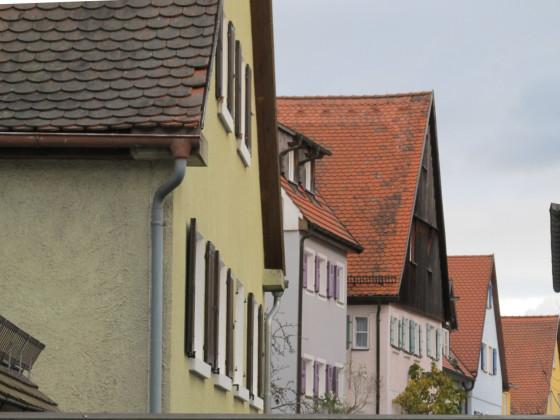 Giebelhäuser am Vorderen Spitzenberg ( Foto von Nr. 7 aus )