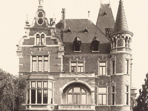 Villa Raussendorff 1894, Rückwardt