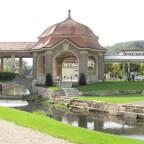 Pavillon und Wandelhallen