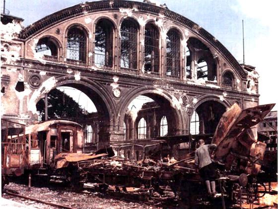 Berlin, Anhalter Bahnhof, 50er Jahre