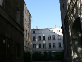 Leipzig Gustav-Mahler-Straße 20 Innehof