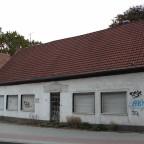 Abrisshaus an der Thomästraße