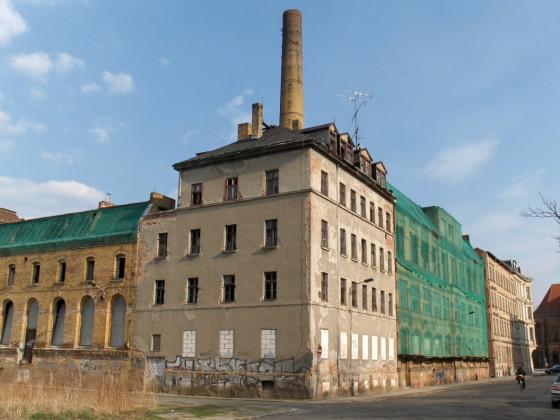 Leipzig-Westvorstadt Schreberstr Aromafabrik Dr. Heine vorher