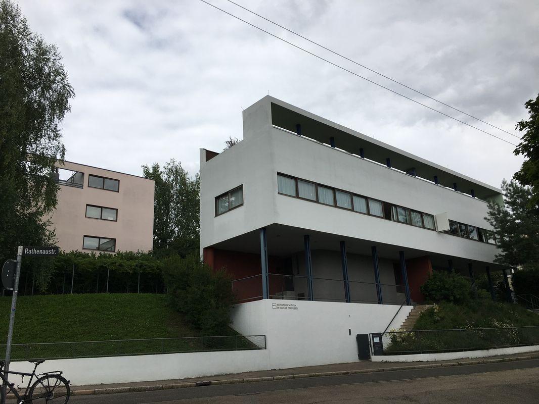 Haus Citrohan und Doppelhaus von Le Corbusier und Pierre Jeanneret