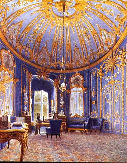 Schloss Berlin Schreibzimmer Friedrich II 1750