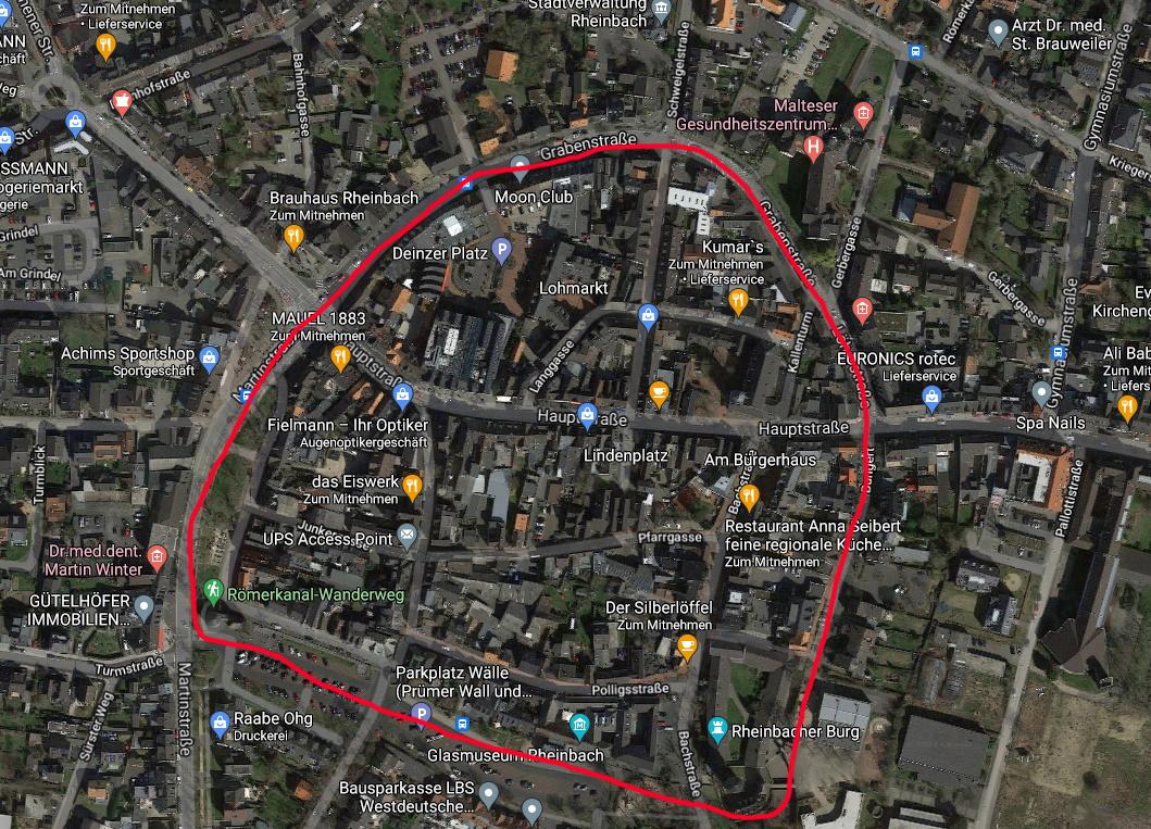 Stadt Satellitenbild