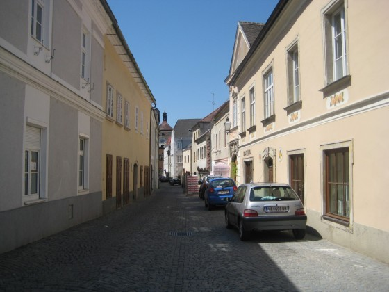 Steiner Landstraße gen Westen