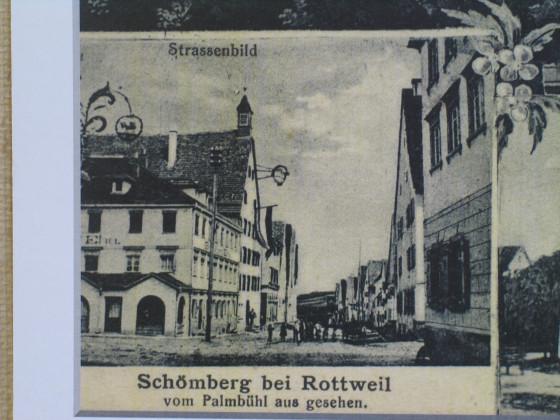 Hauptstraße Schömberg Wirtshausschild Ochsen