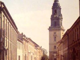Heiliggeistkirche Potsdam Burgstr._PotsdamWiki_ca._1940,_Alfred_von_Lobenstein