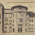 Leipzig Leplaystraße 11 Turnhalle um 1900