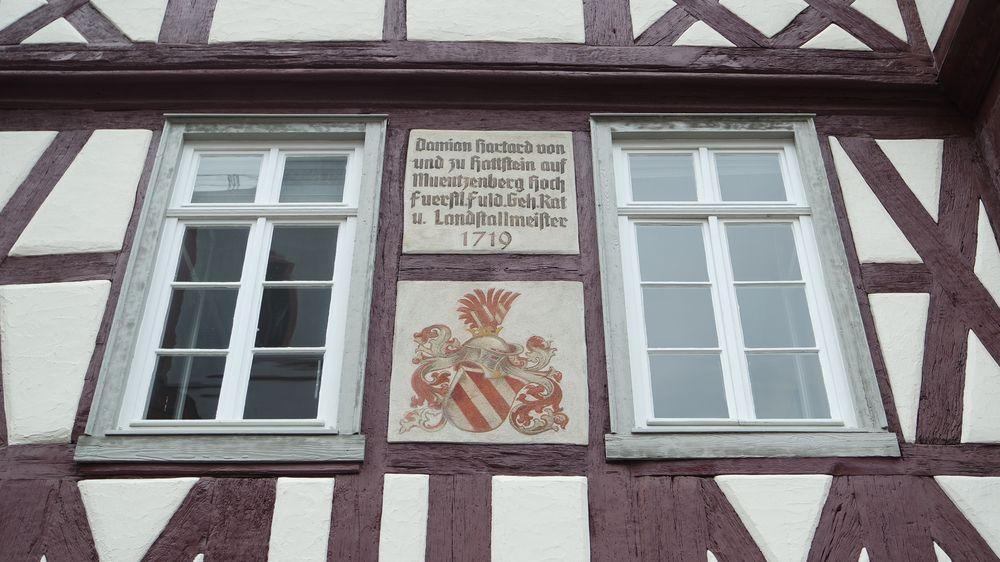 Fulda, Mollenhauerhaus, Originale Substanz